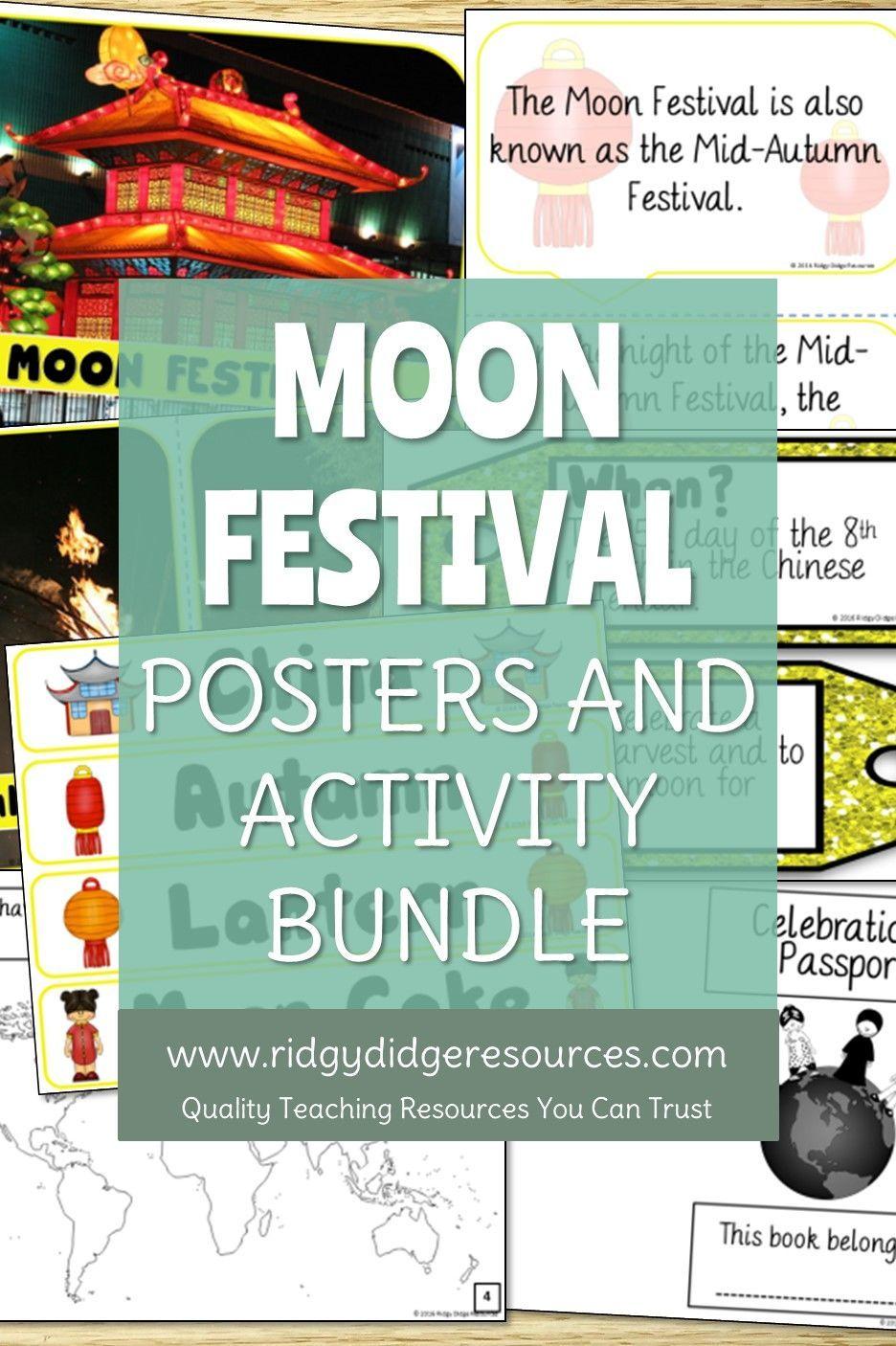 Celebrations around the world moon festival bundle