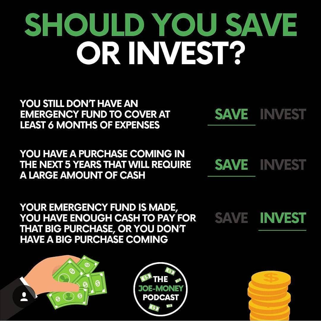 What Will You Do Save Or Invest Follow Young Business Minds Businesspassion Business Topta Investing Investing Money Financial Motivation