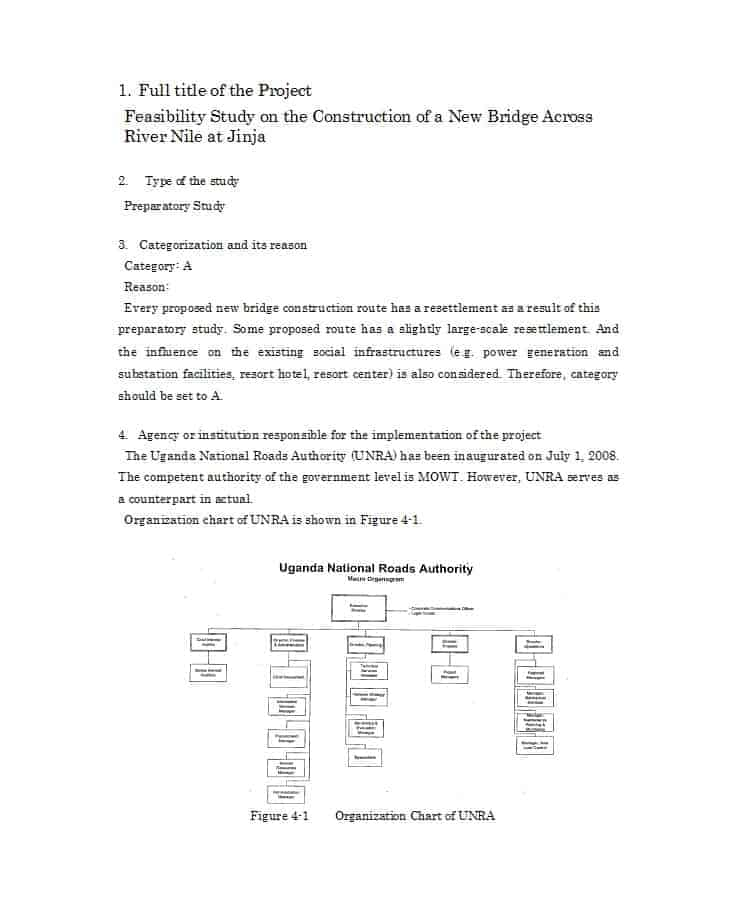 60+ FREE Feasibility Report Templates Besty Templates in