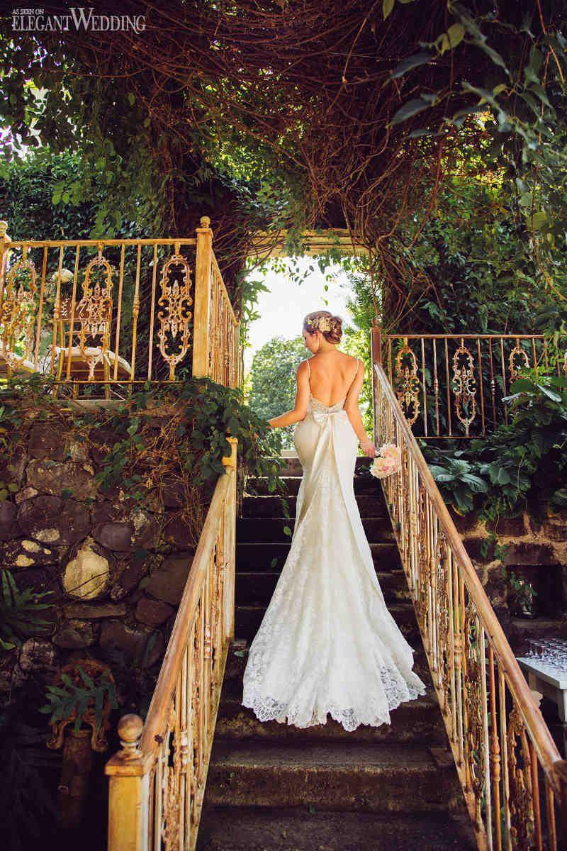 Enchanted hawaiian wedding at haiku mill milling hawaiian and