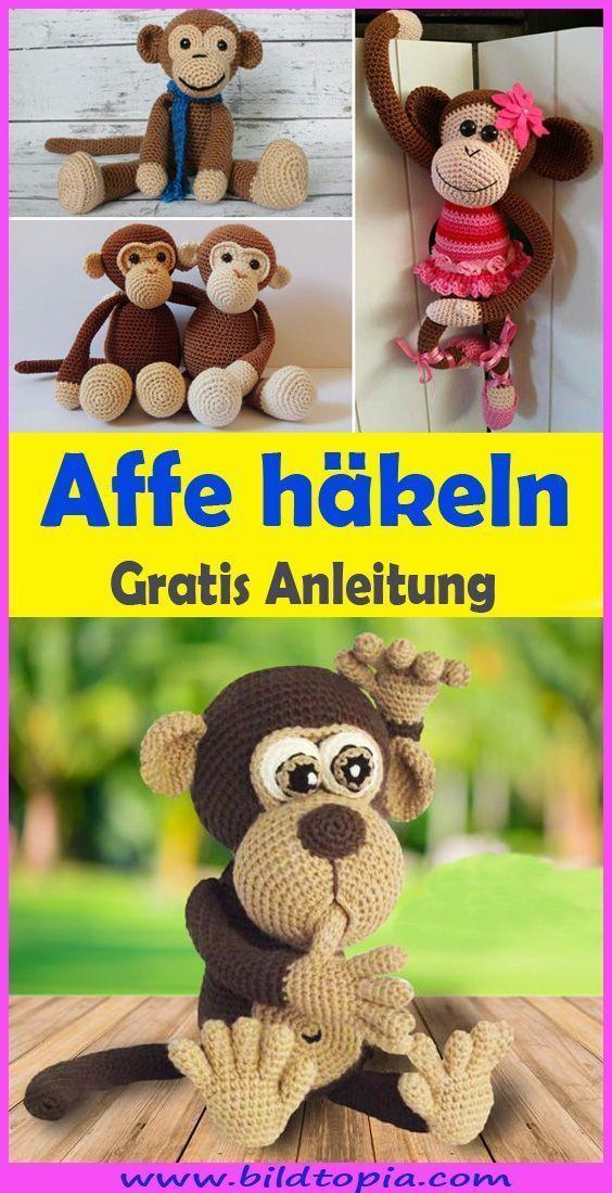 Photo of Amigurumi Affe häkeln – kostenlose & einfache App,  #Affe #Amigurumi
