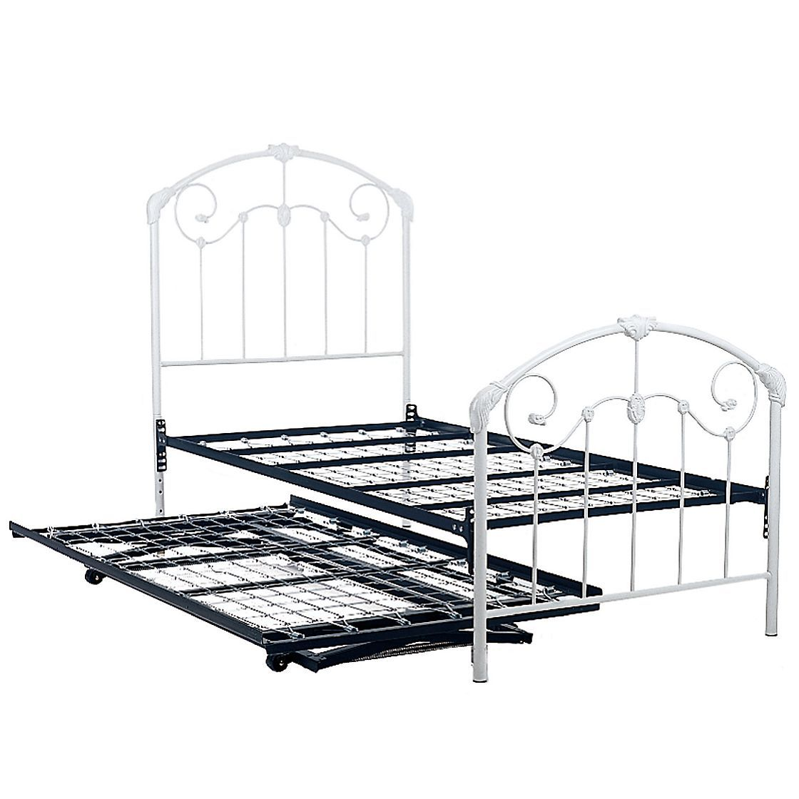 iron trundle bed at company kids dream little girls room