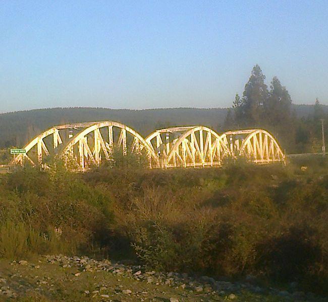 9adb57c4dcc Puente Tres Arcos - río Ancoa - camino a la cordillera - Linares ...