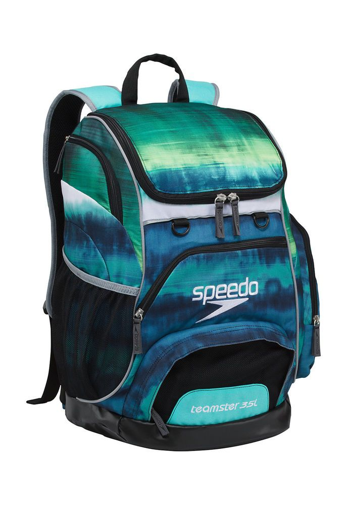 a505f7ef0d Speedo Large Teamster Backpack Swim Bag 35 L Liter Tie Dye Turq New with  Tags  Speedo