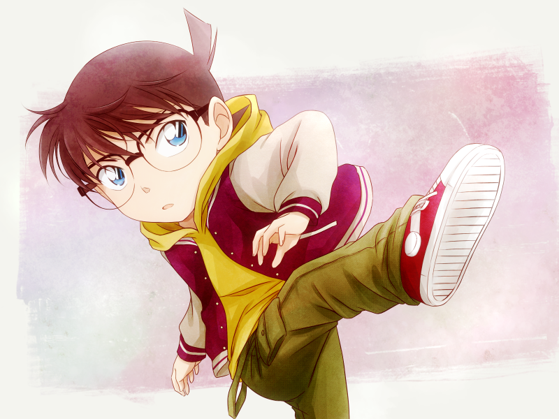 Detective Conan Case Closed Edogawa Conan Soccer Shoot