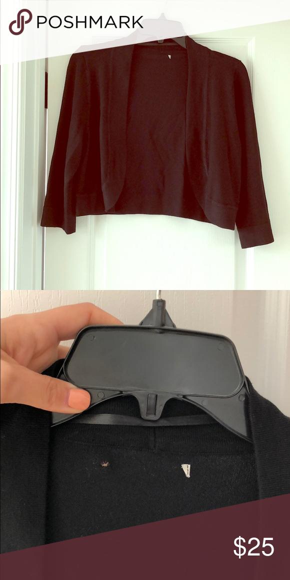 0bc8992b6aa Eliza J open front bolero - never worn This item is a black