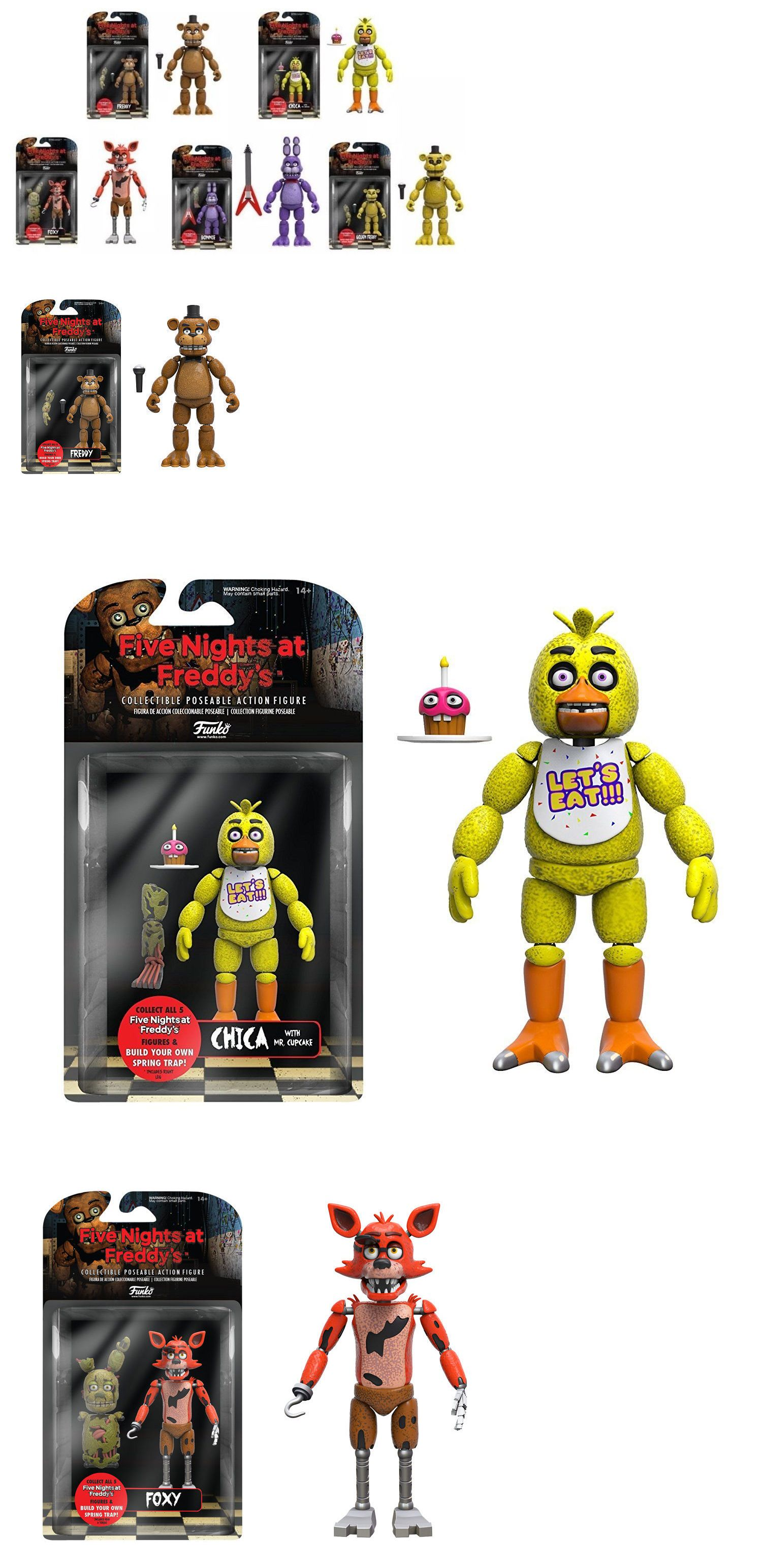 "Funko Five Nights at Freddys CHICA 5/"" Articulated Action Figure NEW"