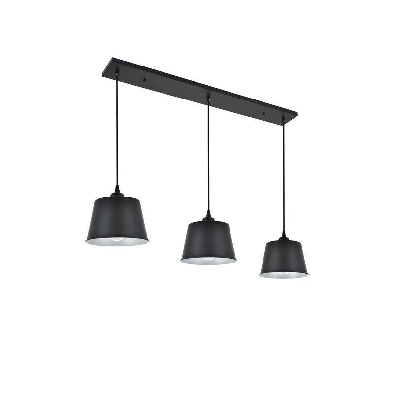 Portishead 3 Light Kitchen Island Linear Pendant In 2020 Kitchen Lighting Kitchen Island Pendants Light