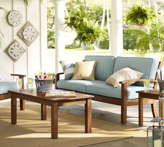 Chatham Sofa | Pottery Barn Outdoor Furniture