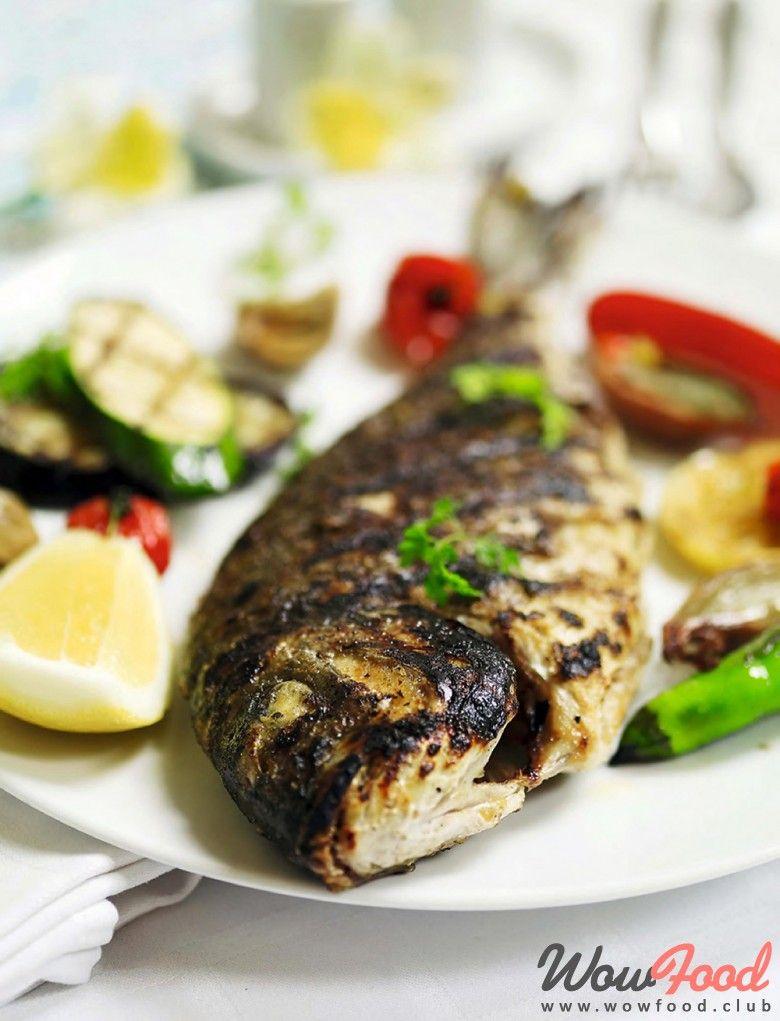 Дорадо и овощи на гриле | Рецепт (с изображениями) | Еда ...