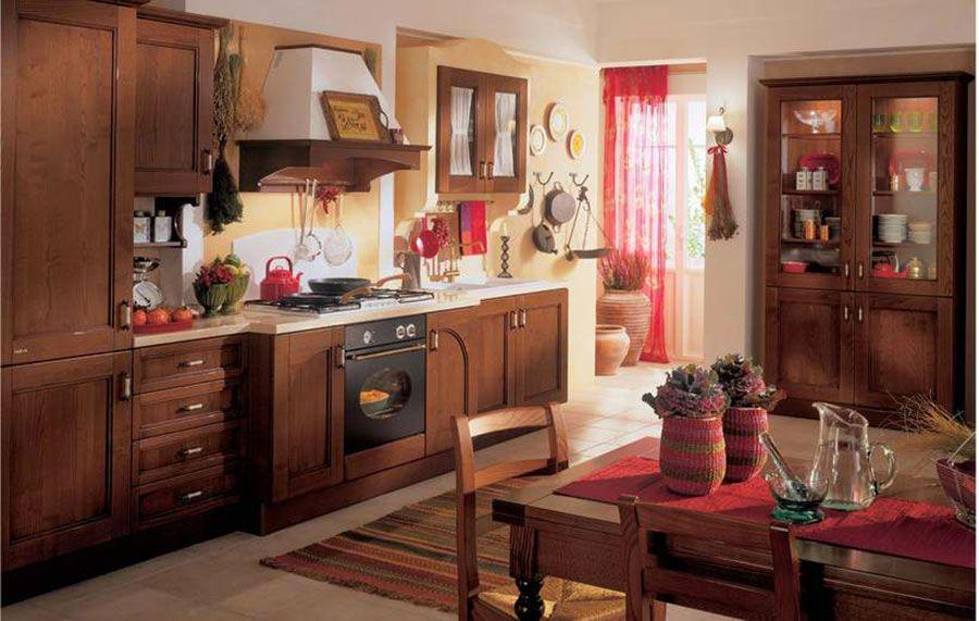 20 Splendide Cucine Provenzali in Legno Kitchen, Country