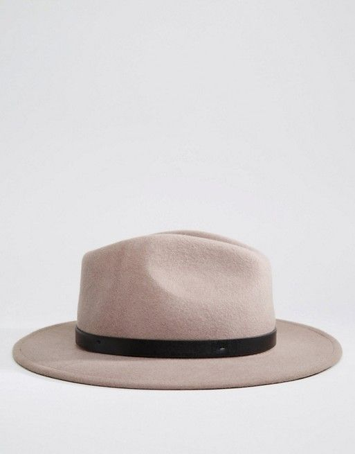 Brixton   Brixton Fedora in Natural with Leather Band