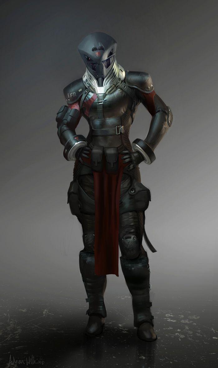 Sci Fi Futuristic Armor Concept Art