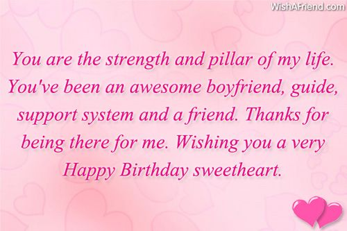 Birthday Wishes For Boyfriend | Quotes | Pinterest | Boyfriend ...