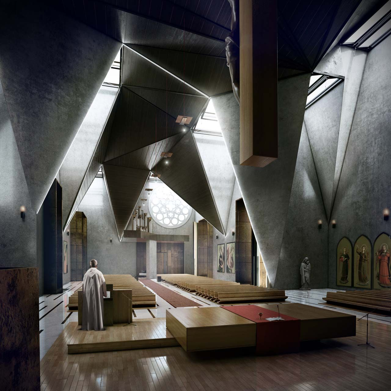 The Haiti Cathedral by Urban Office Architecture. #morfae   #urbanofficearchitecture   #architecture   #cathedraldesign