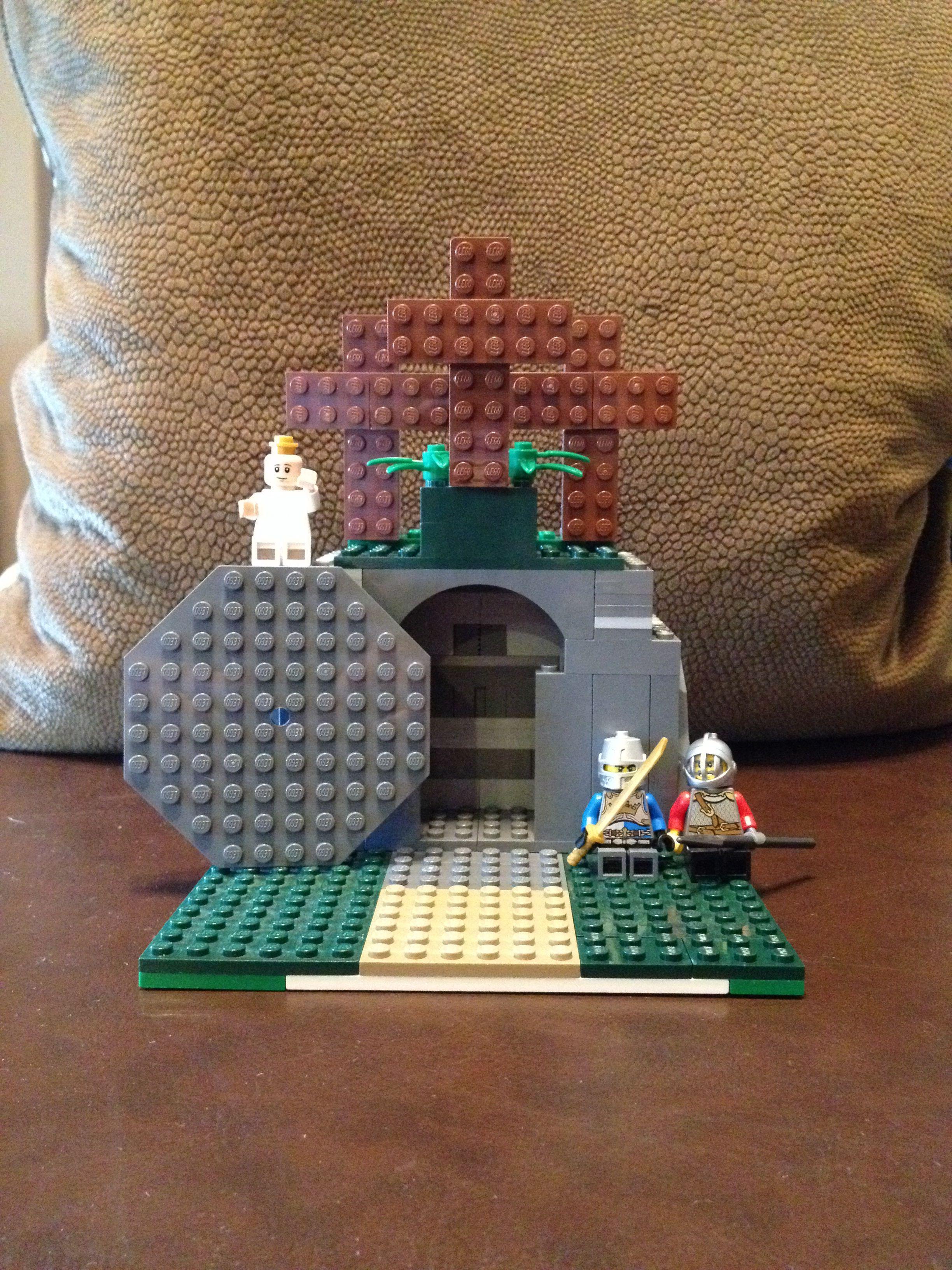 lego empty tomb