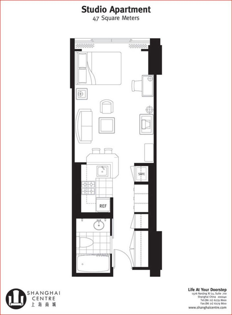Narrow One Bedroom Apartment Floor Plan Small Apartment Plans Studio Apartment Floor Plans Small Apartment Layout