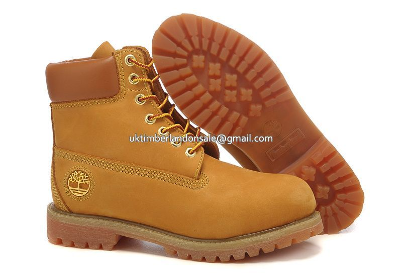 UK Classic Wheat Timberland 6 Inch Premium Nubuck Boots For