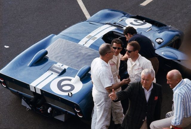 Andretti Ford Gt40 Lemans 1965 Ford Gt Le Mans Vintage Sports Cars