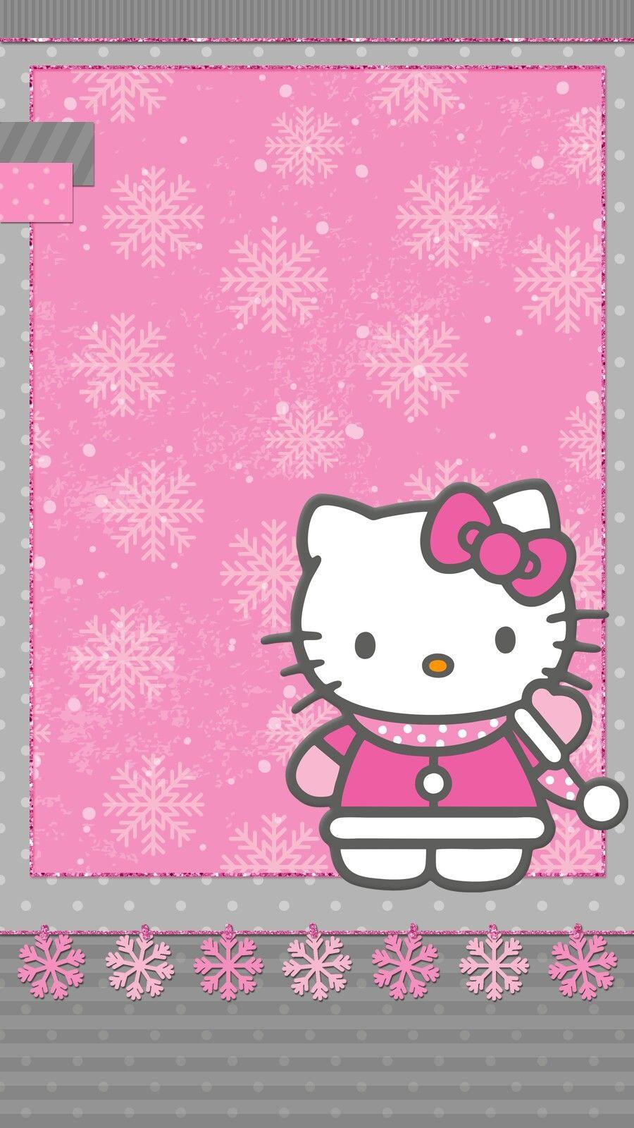 hello_kitty winter Hello kitty wallpaper, Hello kitty