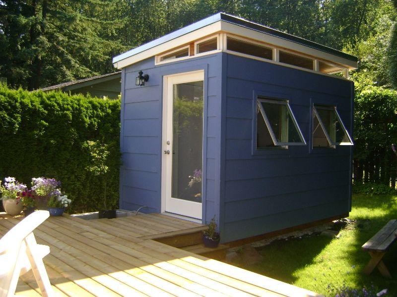 Backyard Bedroom Kit 8 X 12 Teenage Dream Modern Shed