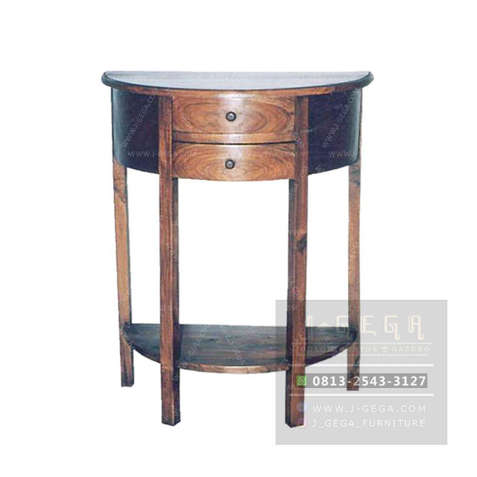 Console Table 2 Drawer Meja Konsol Kayu Jati By J Gega Furniture Meja Konsol Mebel Kayu #side #table #for #living #room #with #drawers