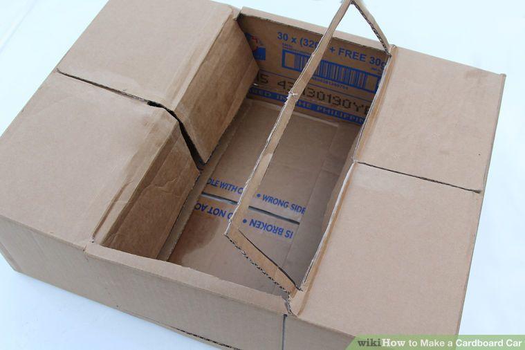 Make A Cardboard Car Cardboard Car Cardboard Box Car Cardboard