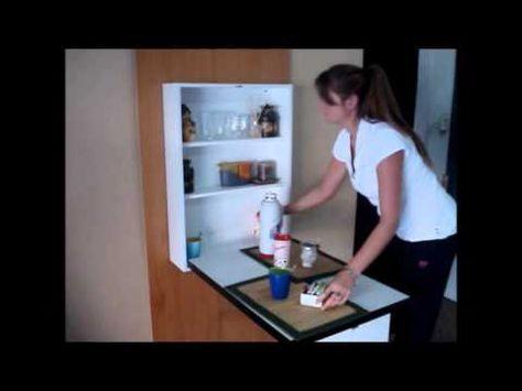 Como hacer mesa plegable de madera asi de facil youtube - Youtube videos de cocina ...