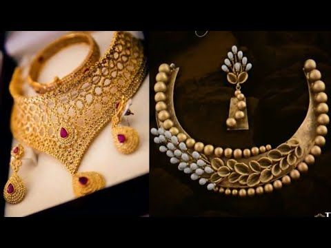 51e484463 Top Beautiful Gold Necklace Design Images / Photo || Latest Gold Necklace  Design 2018 - YouTube
