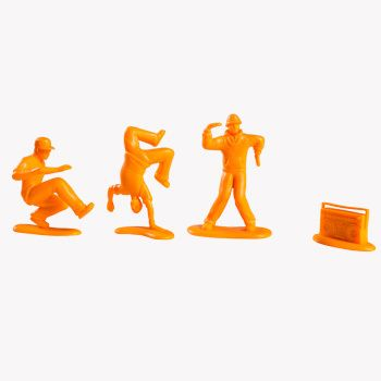 All City Breakers Mini Orange Edition 2-Inch 20-Pack | Kidrobot