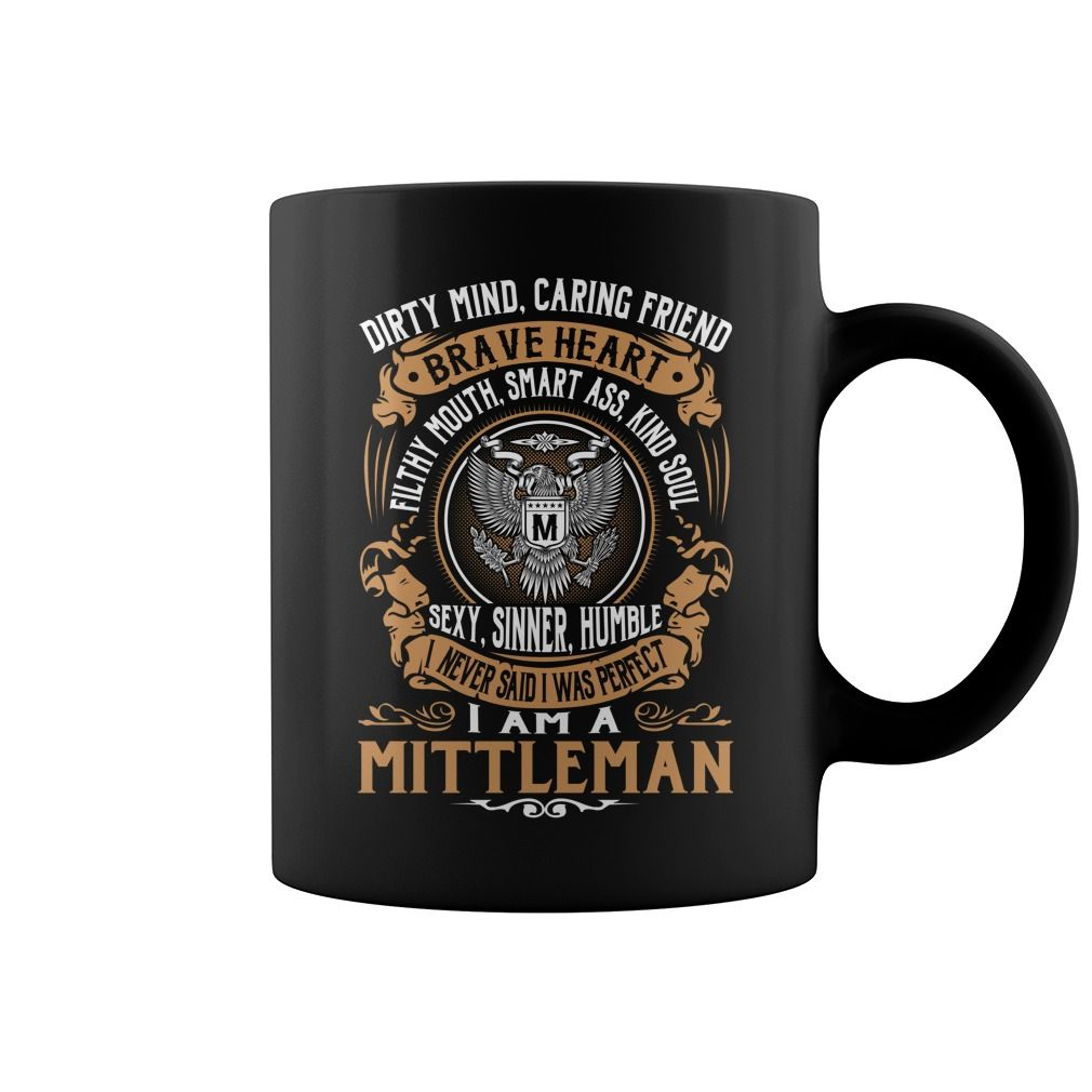 MITTLEMAN Brave Heart Name Mugs #Mittleman