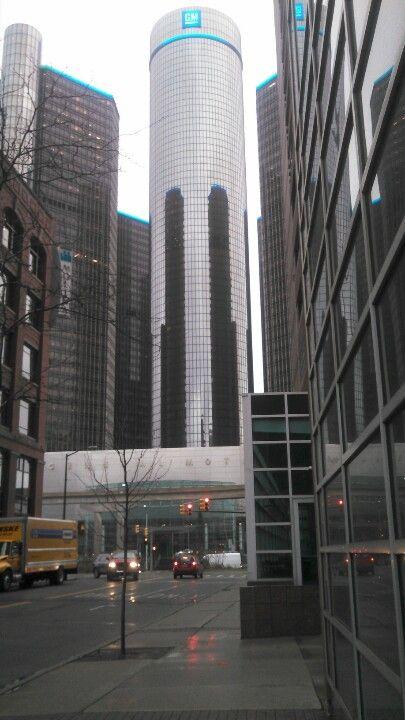 Detroit Mi Renaissance Center Headquarters Of General Motors