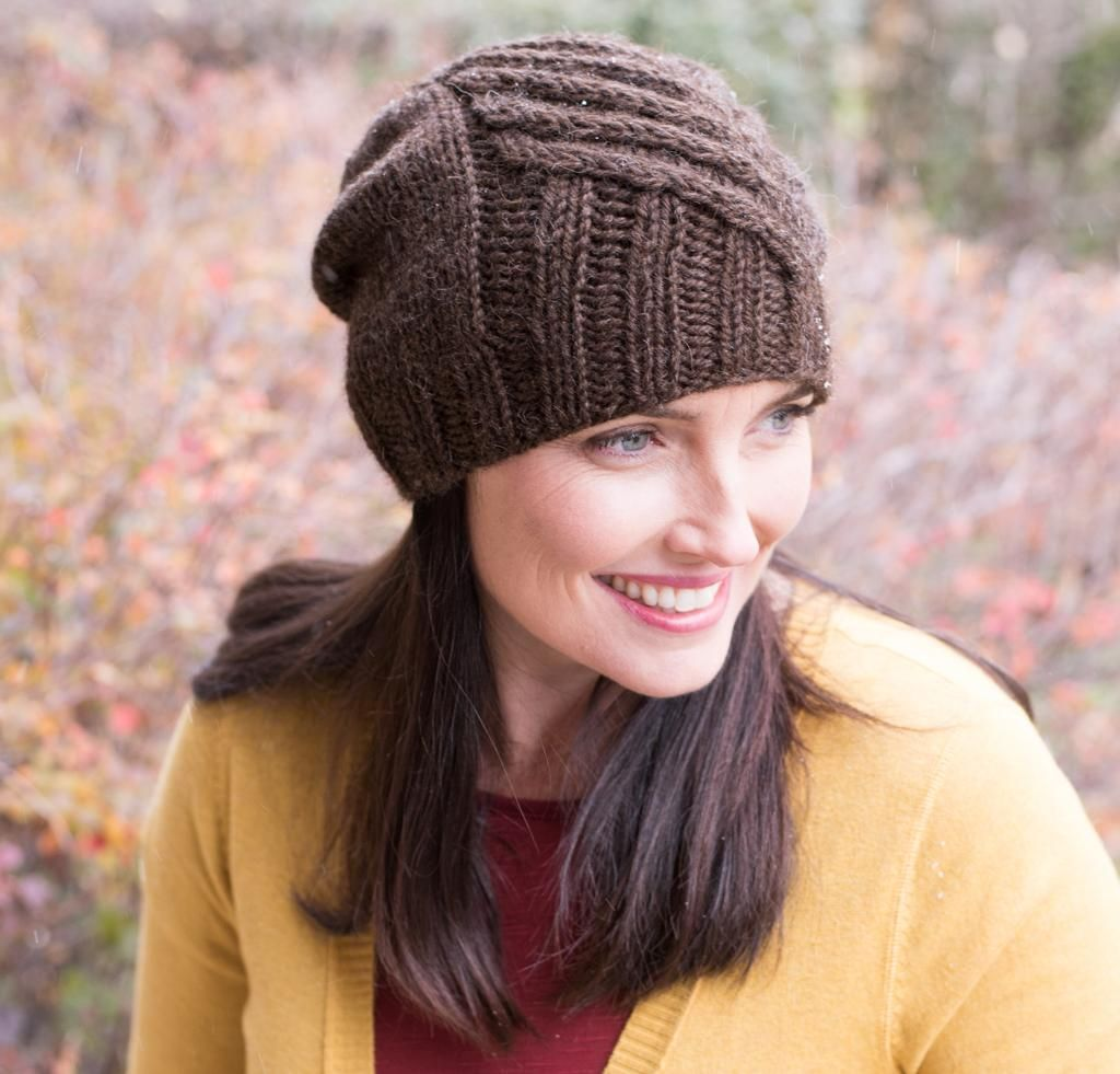 112499e7e62 This cabled hat will capture any knitter s heart! With the Illyria Hat Kit