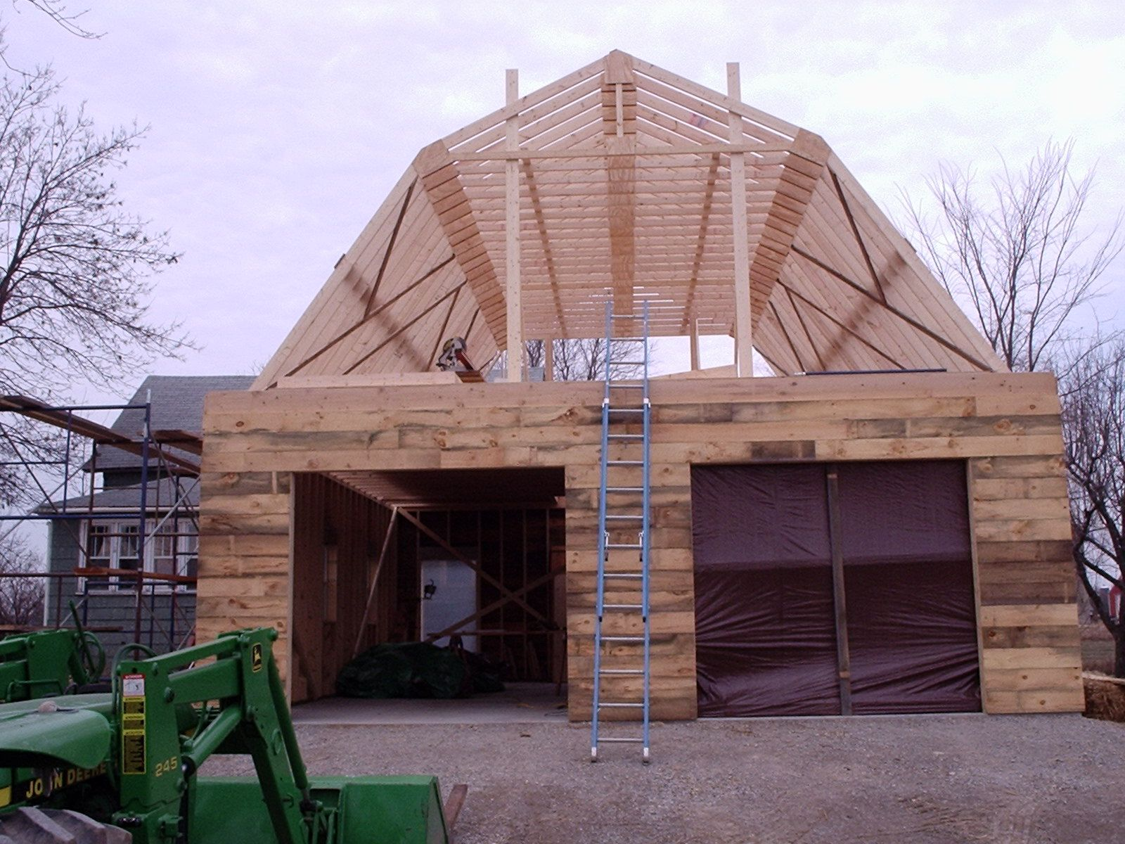 Gambrel Roof Angles Calculator Gambrel Roof Truss Gambrel Roof