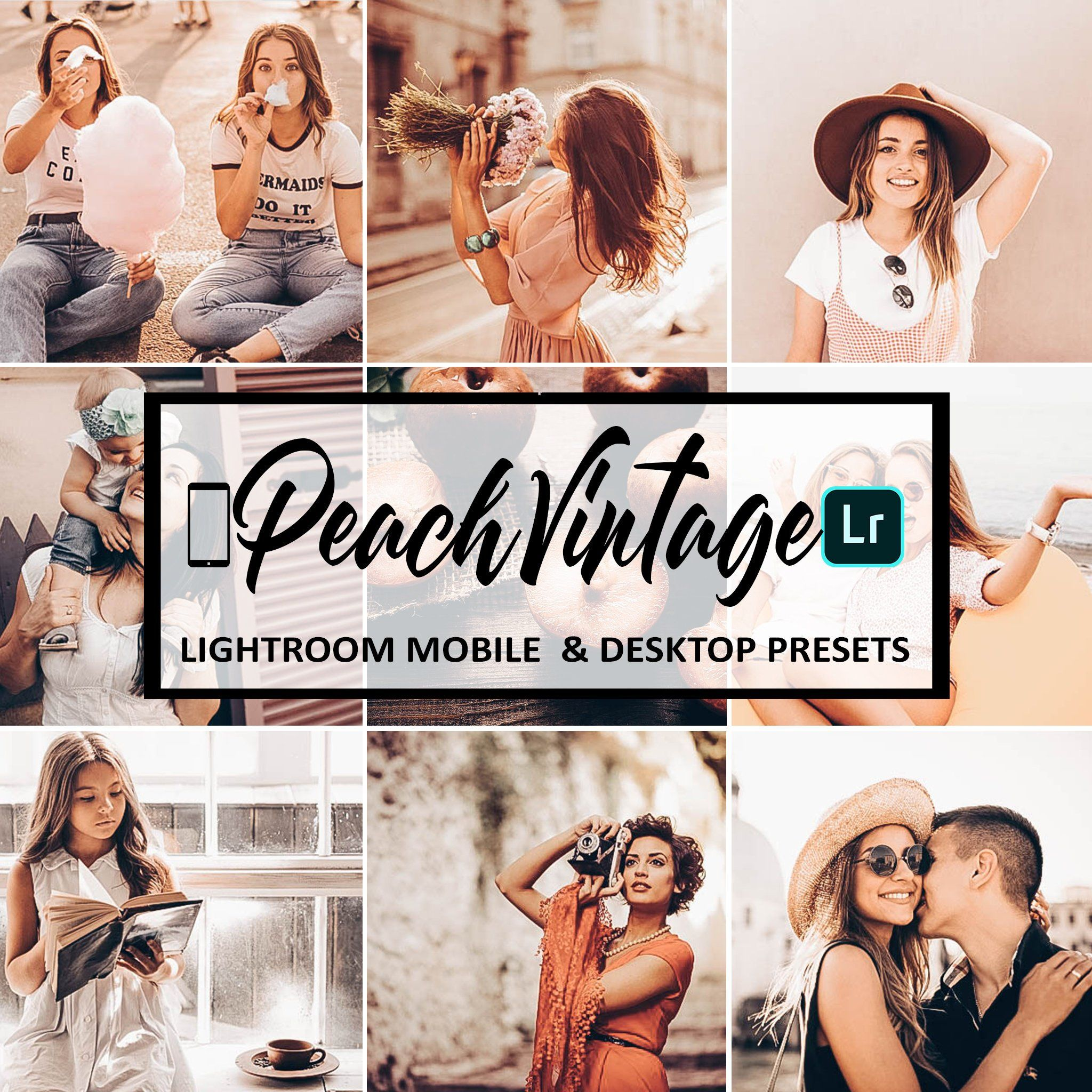 Peach Vintage Preset Presets Lightroom Mobile Lightroom Etsy In 2020 Lightroom Lightroom Presets Instagram Lifestyle