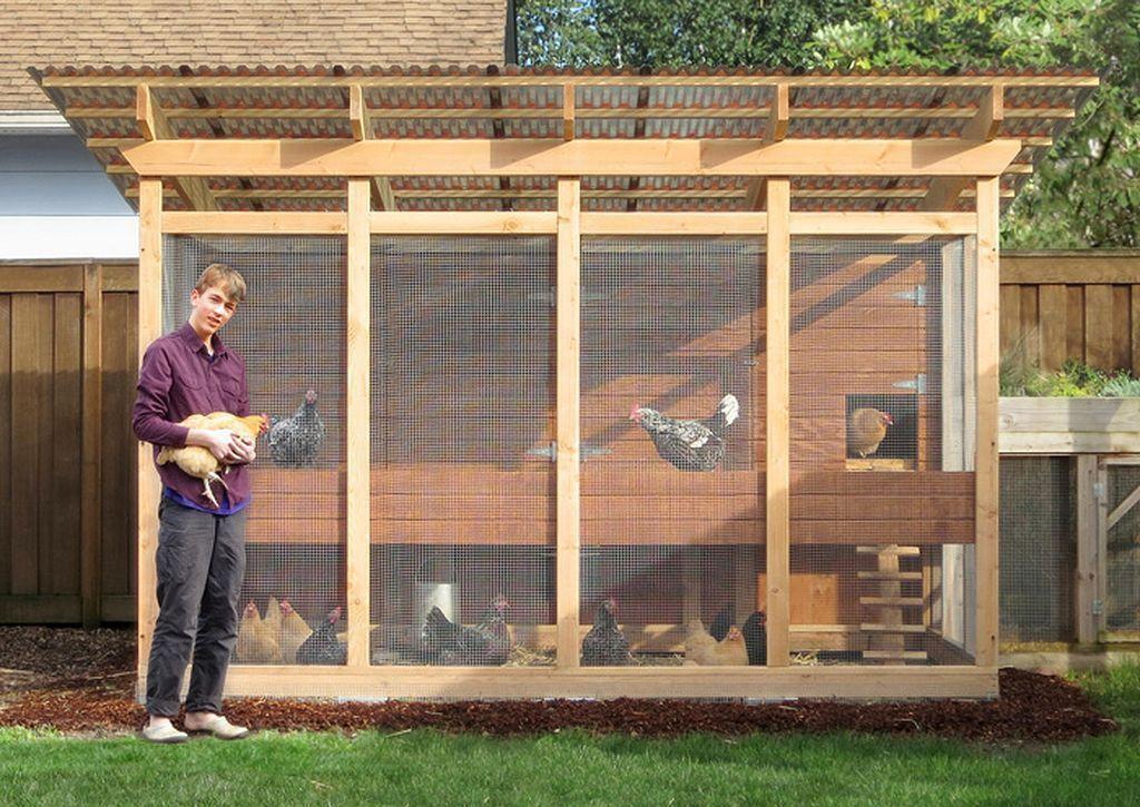 Backyard Chicken Coop Design Ideas 1 #ChickenCoopPlans   braeden\'s ...