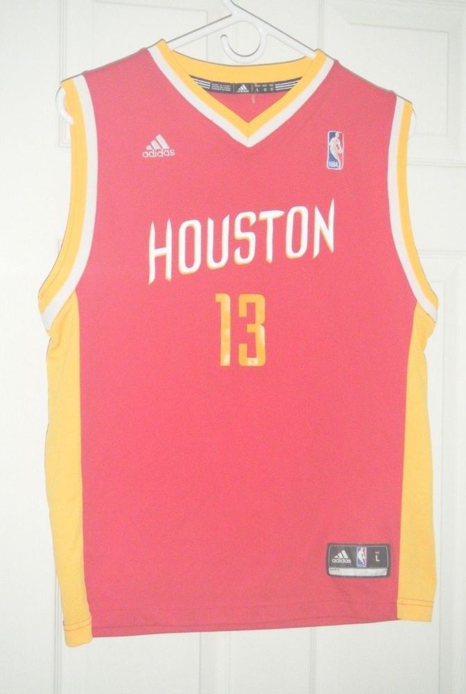 the best attitude 87a38 1e5f8 NBA Houston Rockets Jersey Adidas James Harden Red Alt Youth ...