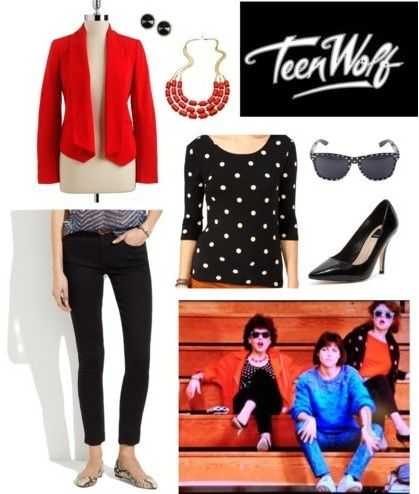 teen wolf wardrobe | Teen Wolf 1985 Inspired Outfit via Style and Cheek ... | Style and Ch ...