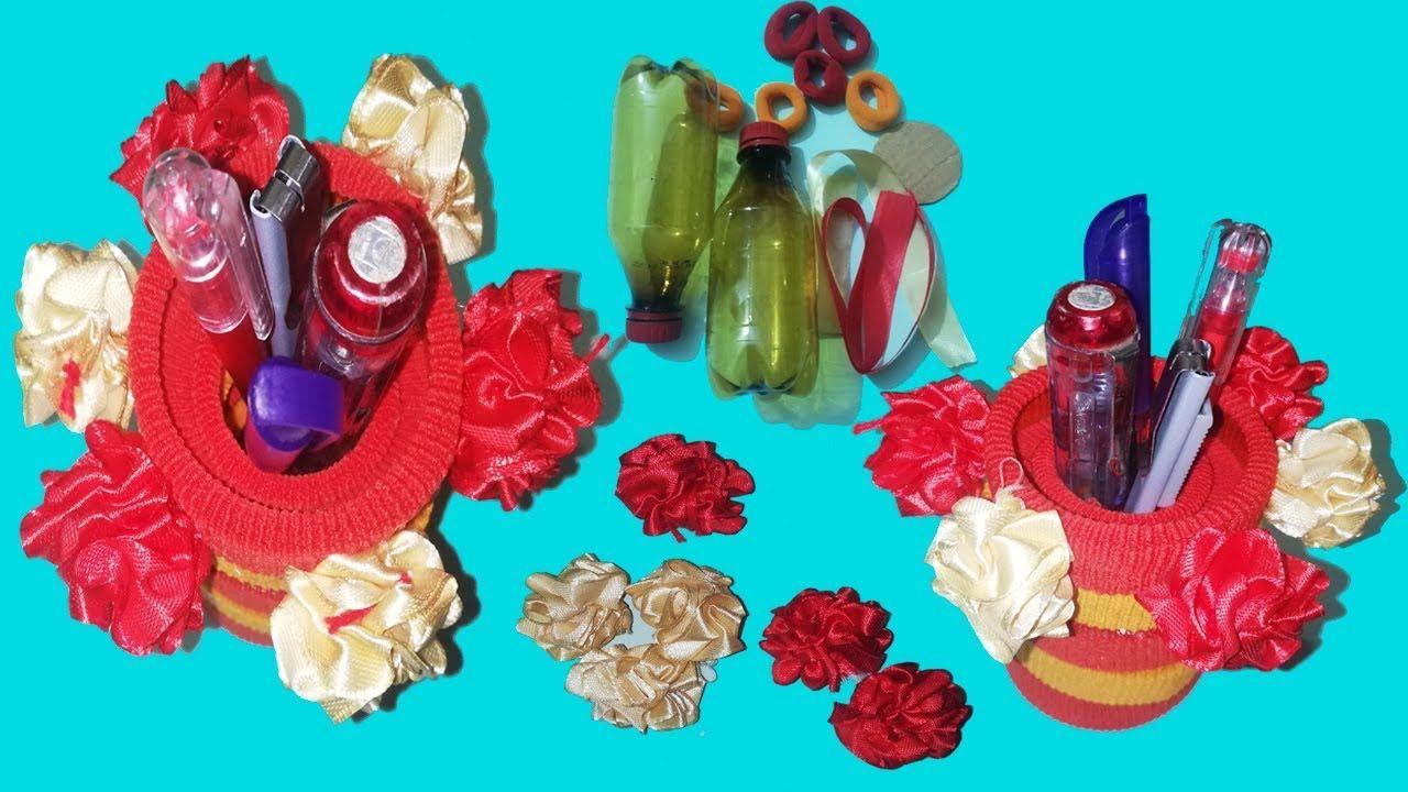 Best Out Of Waste Plastic Bottle Craft Ideas Plastic Bottle Reuse