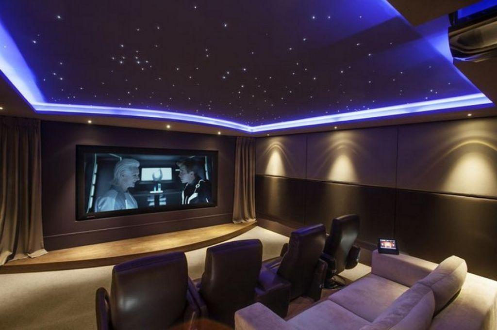 Interior , Build A Grande Design of The Real Cinema at Home Through ...