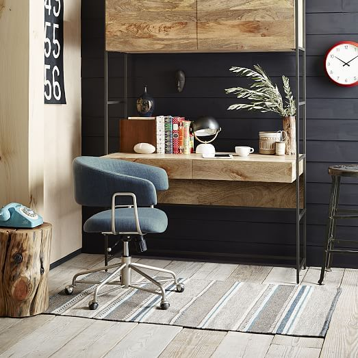 Doesn T Look Like Back Reclines Halifax Upholstered Office Chair West Elm