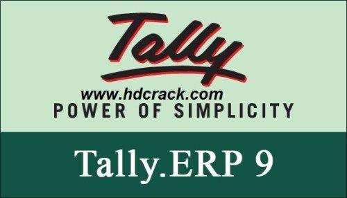Tally Erp 9 Crack plus Activation Key Full Version