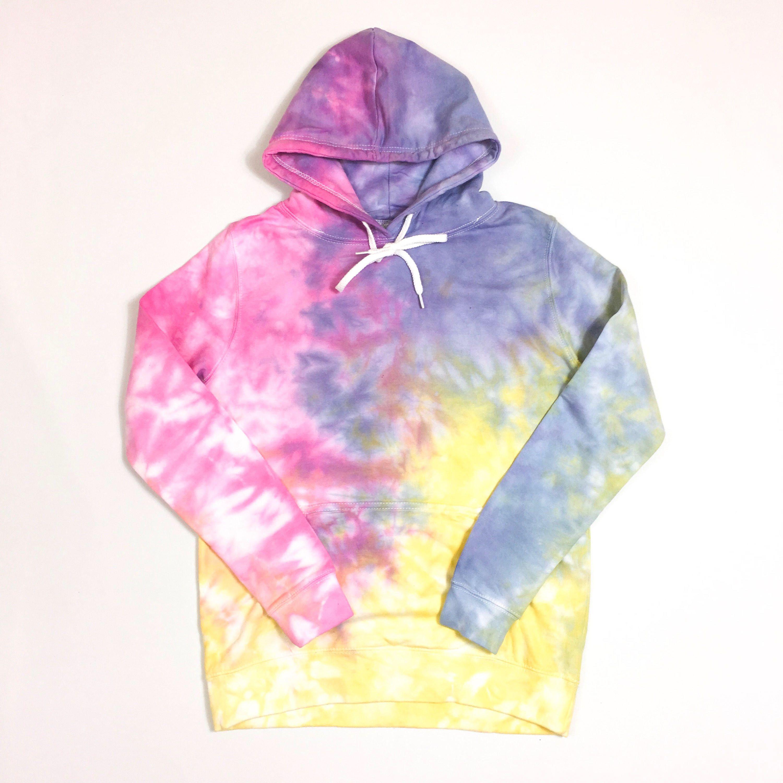 1b6f5017d38 Pastel Tie dye hoodie
