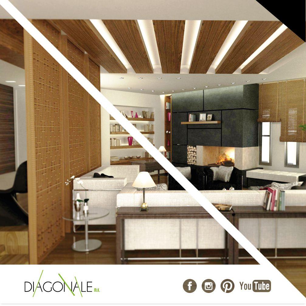 Luxury living room at Villa Mr Alexandre