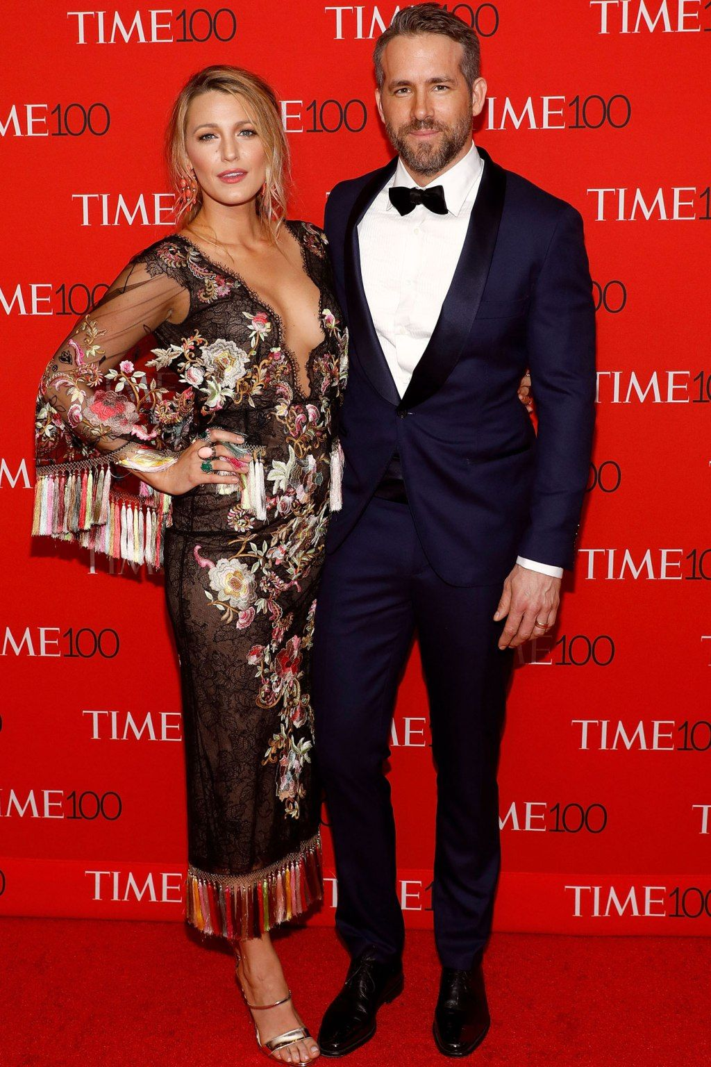 Ryan Reynolds Brings Blake Lively and Mom to TIME 100 Gala