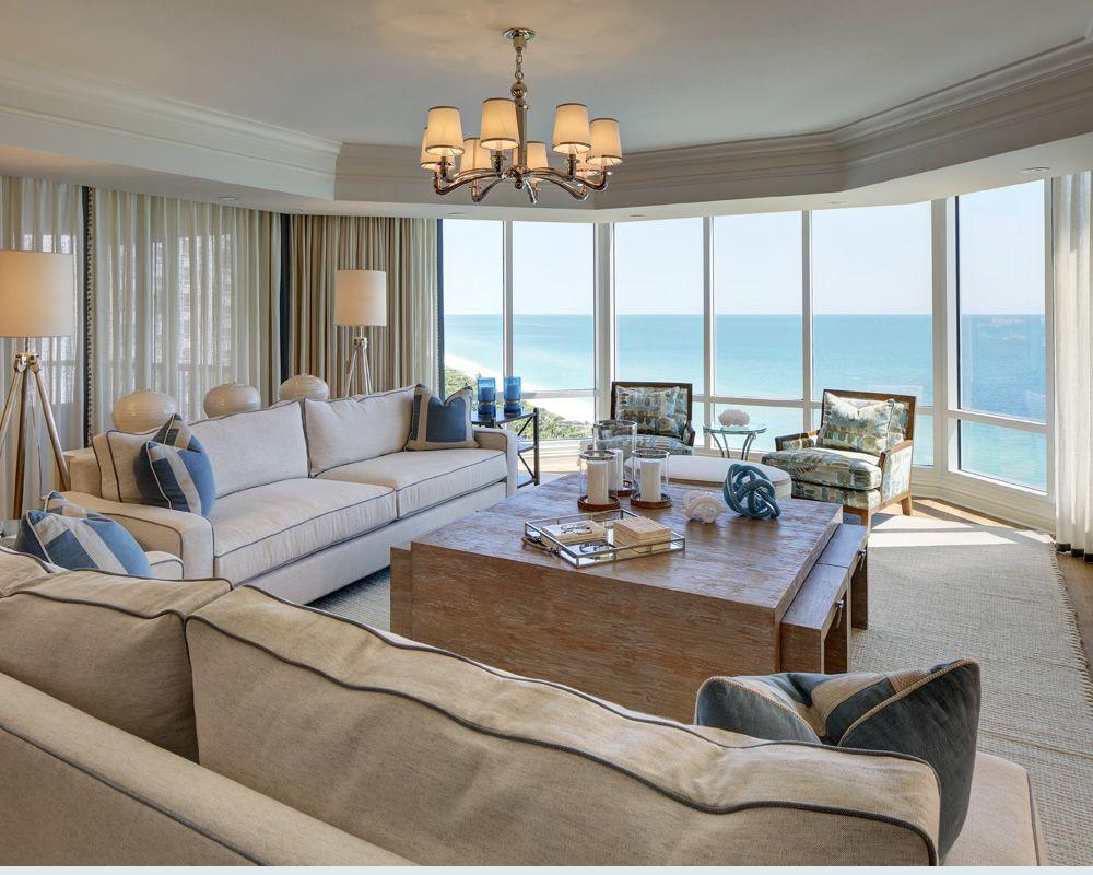 Gulf Coastal W Design Interiors Condo Decorating Beach Condo