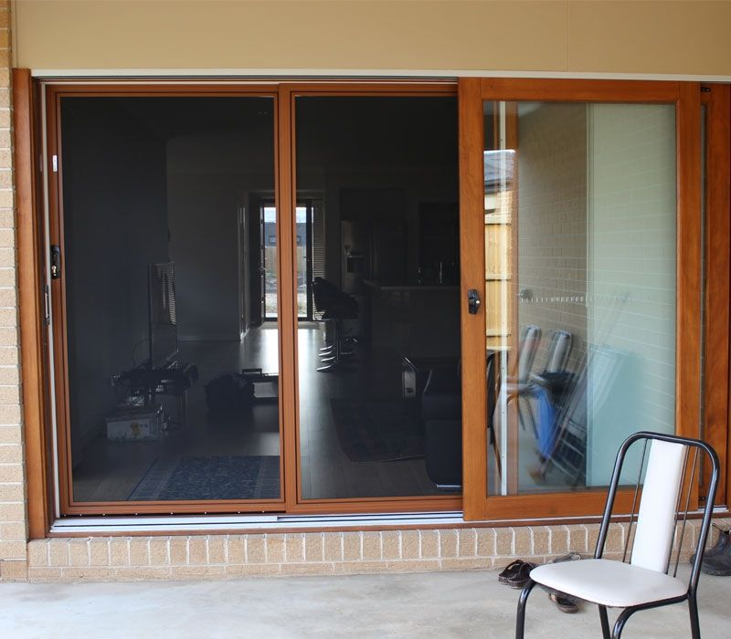 Timber Style Frame Stacker Stainless Steel Security Door #house #doors #door  #securitydoors