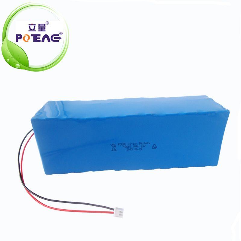 18650 24V 10Ah lithium ion battery pack