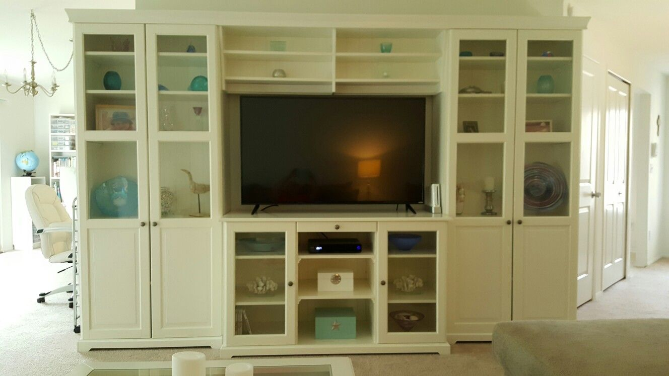 IKEA Liatorp wall unit … | Living room goals | Livin…