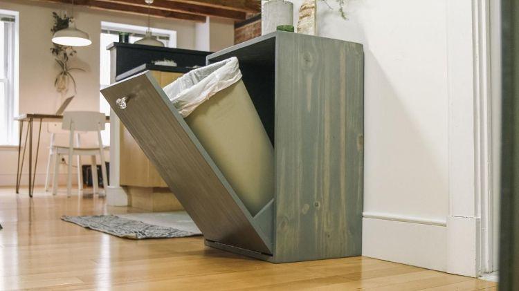 Einbau-Mülleimer außer Sichtweite halten – Moderne Ideen für Ihre ...